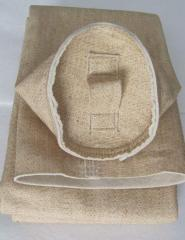 Sleeve filtering of material (m-Aramid) design,