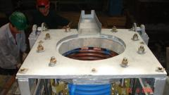 Units induction steel-smelting crucible (smelting