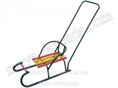 Children's sledge with the handle (V-36 code)