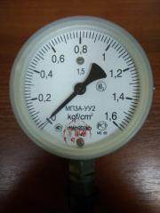 MP3A-UU2, VP3A-UU2, MVP3A-UU2 Manometer ammoniac