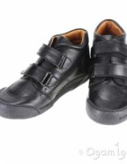 Low shoes for the boy black school Garvalin 101501