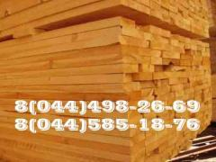 Coniferous edged board and other timber
