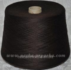 Пряжа 729 т.коричневый