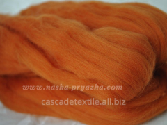 Wool for a fulling 012 carr