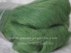 Wool for a fulling 024 grassy