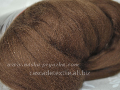 Wool for a fulling 241 chocolate