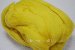 Wool for a fulling 249 Bright lemon