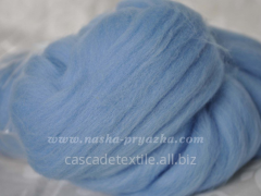 Wool for a fulling 352 blue