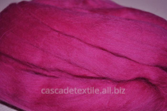 Wool for a fulling 382 Fuchsia