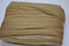 Wool for a fulling 454 beige