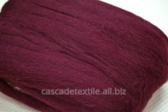 Wool for a fulling 483 Bordeaux