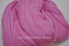 Wool for a fulling 496 Pink