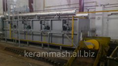 Automated production line of heavy-loaded by hot