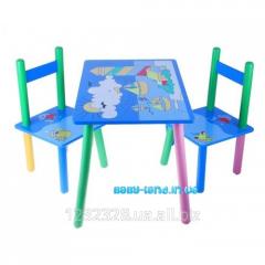 Столик и стулья Море