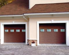 Ворота гаражные секционные гаражные ворота