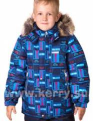Axel jacket dark blue print of LENNE 14340-2290