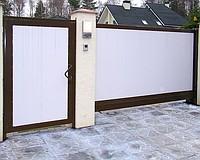Ворота сдвижные Сдвижные ворота (откатные ворота)