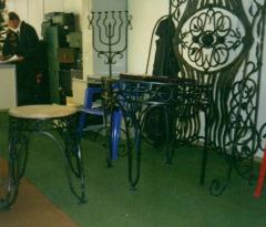 Decor furniture in Zaporizhia, Ukraine. We watch