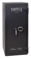 Safes with double system of blocking
