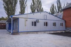 Быстрый монтаж модульных зданий и конструкций