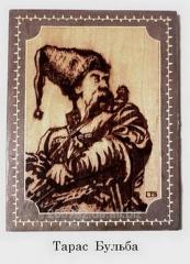Украинское изделие из дерева ручной работы.