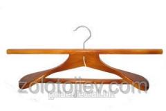 Coat hanger for a fur coat width is 46 cm