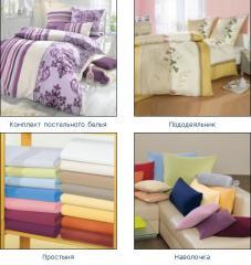Textiles for hotels, sanatoria. Tailoring,
