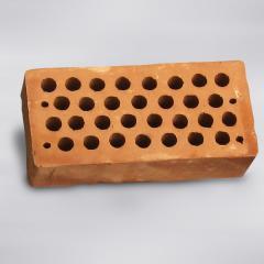 Brick red ceramic hollow M-125 ordinary,