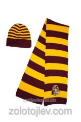 Scarf and cap Griffindor