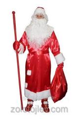 Костюм Дед Мороз с шикарной бородой