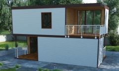 Мобильный дом, модульный дом, дом из контейнеров