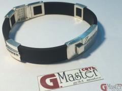 Silver bracelet of Zancan ITALY