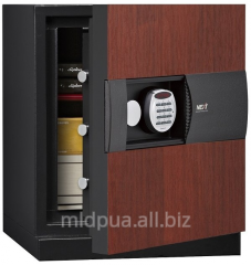 Safes with the electronic coded lock