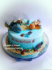 Торт на заказ, десерт,Торт-машинка,торт