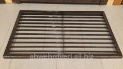 Floor metal lattice