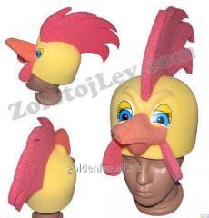 Carnival mask Rooster Cockerel