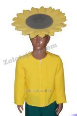 Carnival mask Sunflower