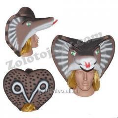 Carnival mask of the Snake