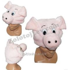 Carnival mask of the Pig