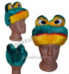 Carnival mask of the Frog