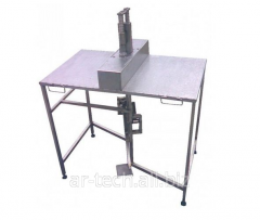 The device for pitting from the prunes (which are