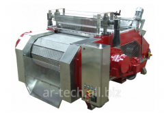 Pitting machine from cherries, apricot and