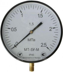 Boiler DM8010, DV8010, DA8010 manometers