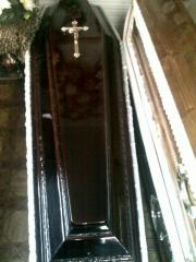 Гробы и труны из дерева элитных, крепких пород.