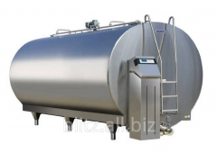 The reservoir for milk from 100 to 2000 l, the