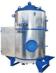 MZK boilers with a steam generating capacity from