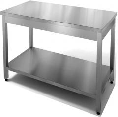 Стеллажи, столы из нержавеющей стали