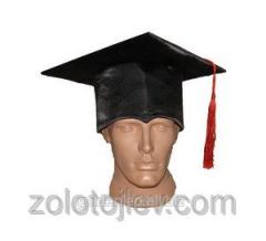 Academic cap of the graduate