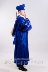 Rector's cloak blue