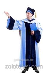 Academic cloak of professor